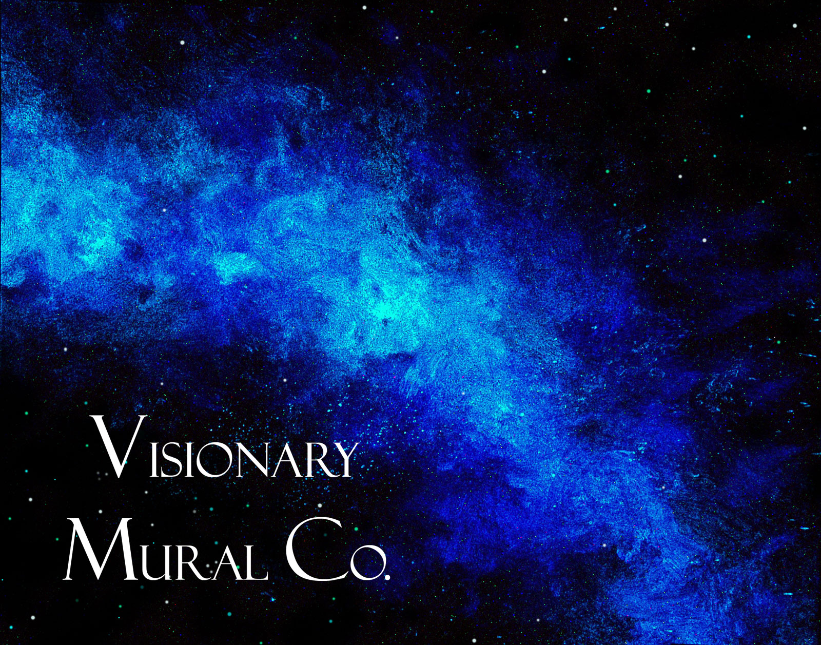Glow In The Dark Wall Murals outer space muralsvisionary mural co. glow in the dark