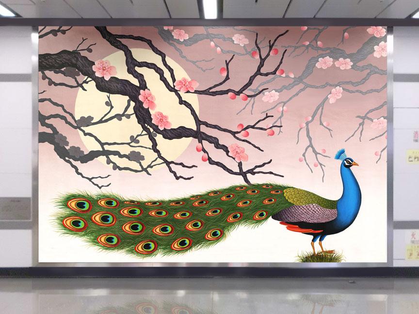 chinese-mural-interior-003