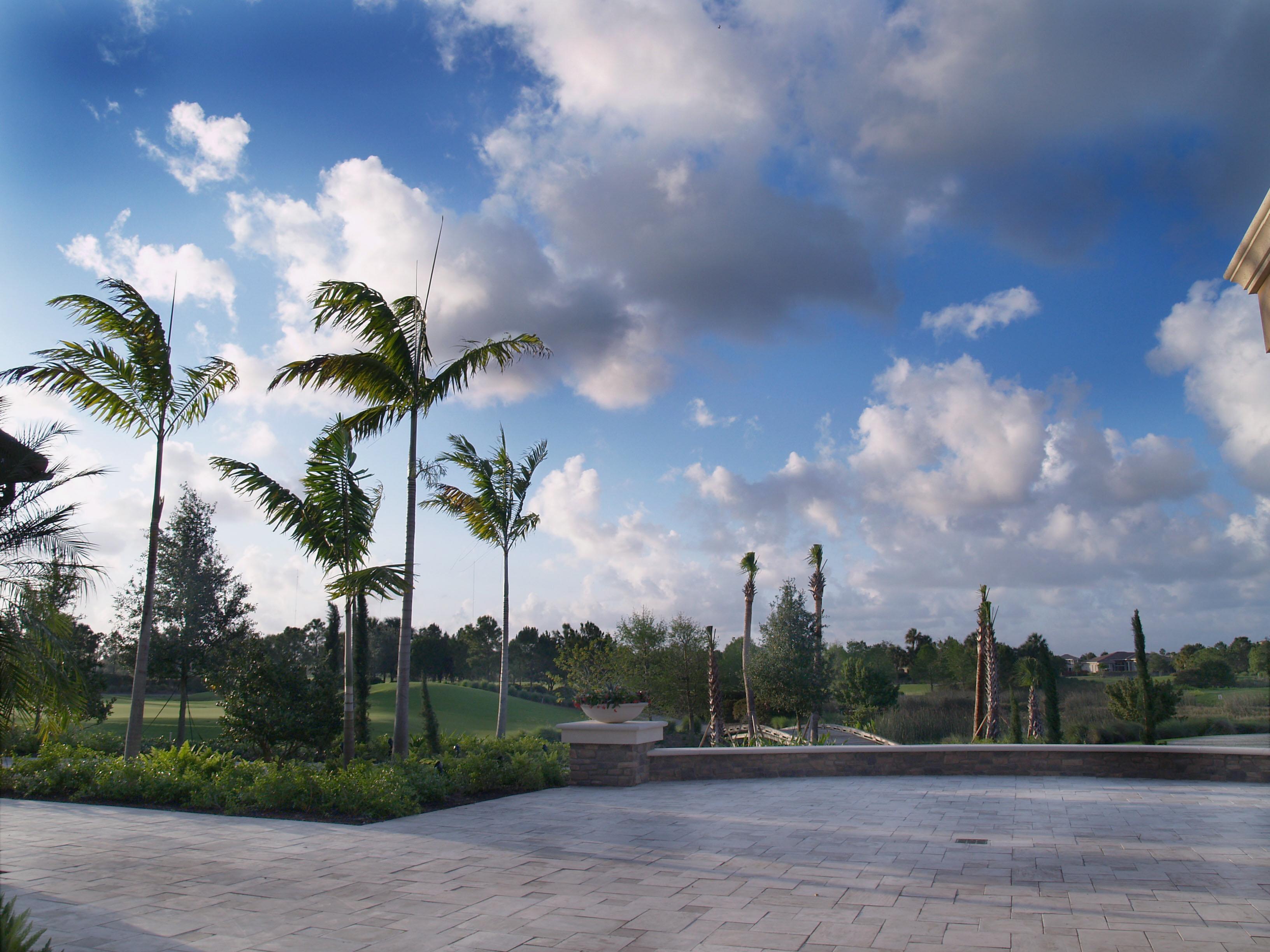 Parkland-wall