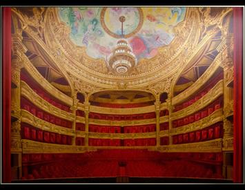 Paris Opera House Mural